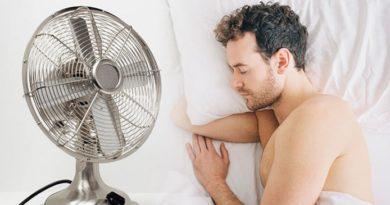 Es seguro dormir con un ventilador
